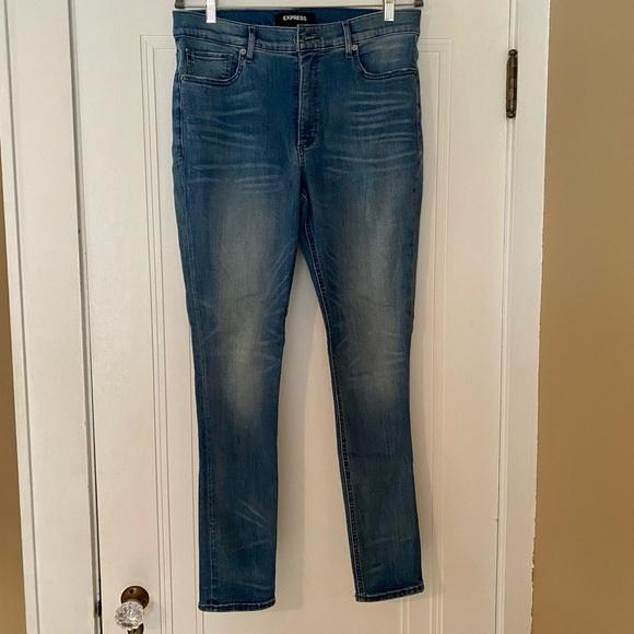 Express high rise skinny jean